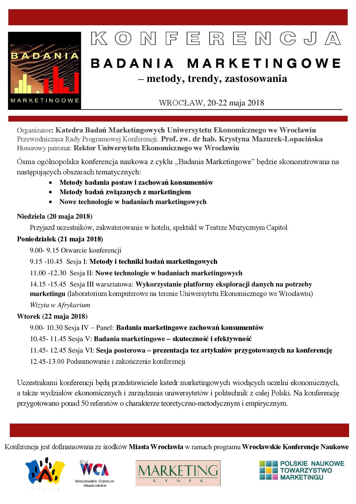 Wrocławskie Konferencje Naukowe Konferencja Badania